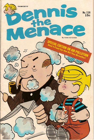 Cover for Dennis the Menace (Hallden; Fawcett, 1959 series) #116