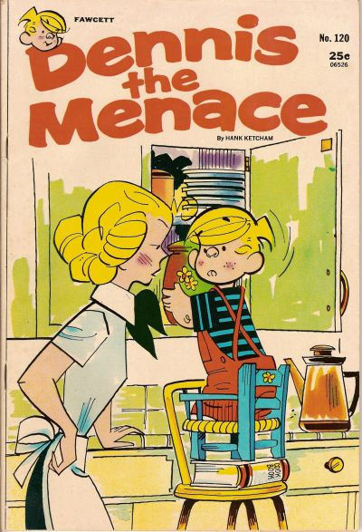 Cover for Dennis the Menace (Hallden; Fawcett, 1959 series) #120