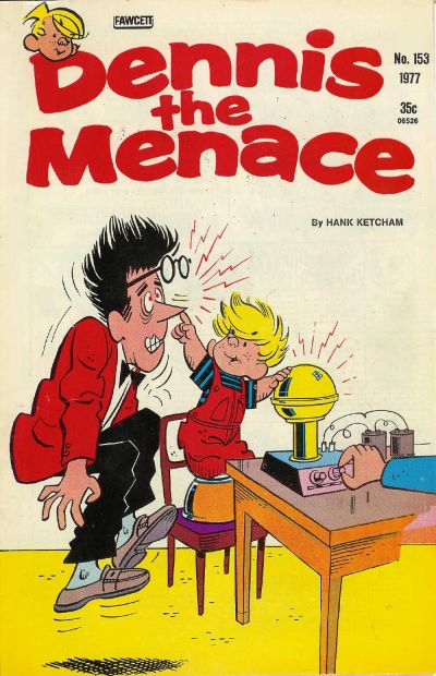 Cover for Dennis the Menace (1959 series) #153
