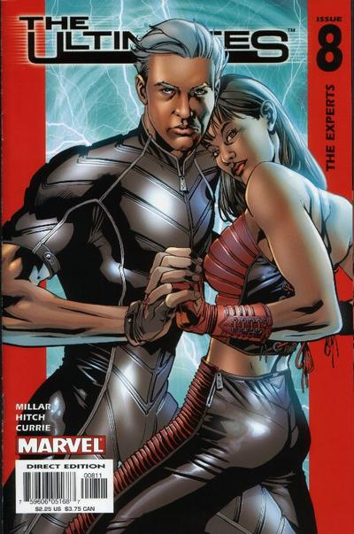 Cover for The Ultimates (Marvel, 2002 series) #8