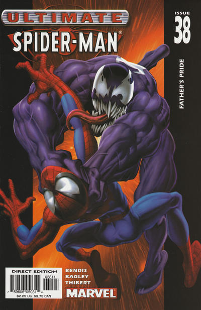 Cover for Ultimate Spider-Man (2000 series) #38