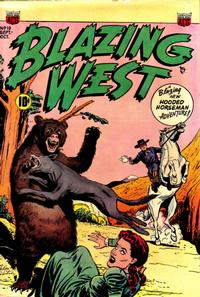 Cover Thumbnail for Blazing West (American Comics Group, 1948 series) #19