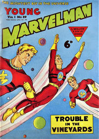 Cover Thumbnail for Young Marvelman (L. Miller & Son, 1954 series) #89