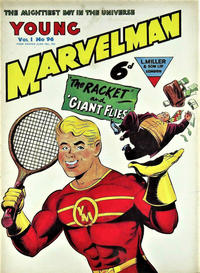 Cover Thumbnail for Young Marvelman (L. Miller & Son, 1954 series) #96