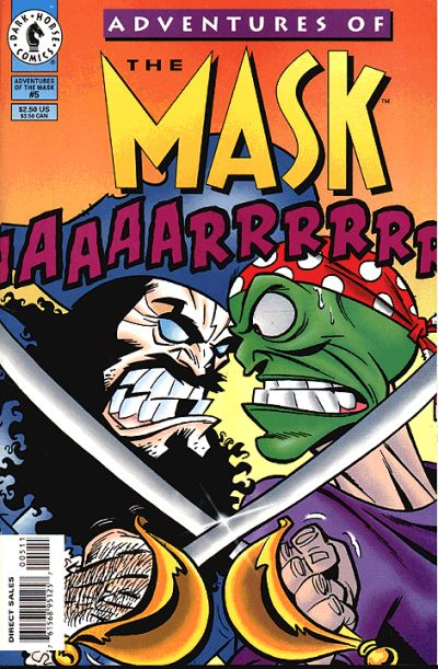 Cover for Adventures of the Mask (1996 series) #5