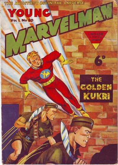 Cover for Young Marvelman (L. Miller & Son, 1954 series) #90