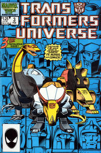 Cover Thumbnail for The Transformers Universe (Marvel, 1986 series) #3 [Direct Edition]
