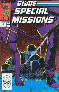 Cover Thumbnail for G.I. Joe Special Missions (Marvel, 1986 series) #18 [Direct Edition]