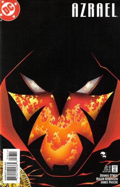 Cover for Azrael (DC, 1995 series) #36