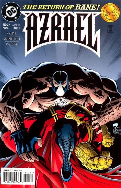 Cover for Azrael (DC, 1995 series) #37