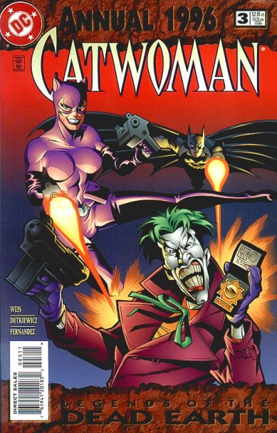 Cover for Catwoman Annual (1994 series) #3
