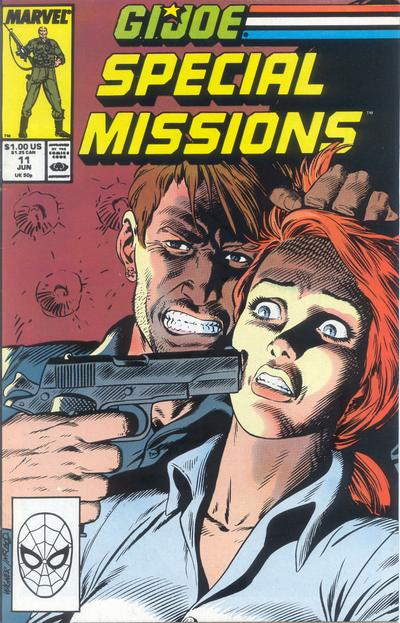 Cover for G.I. Joe Special Missions (Marvel, 1986 series) #11
