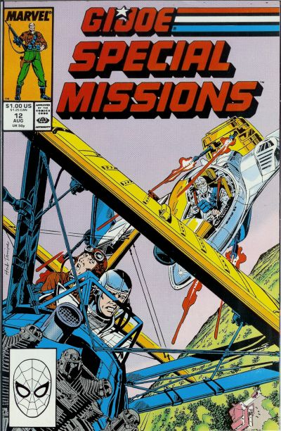 Cover for G.I. Joe Special Missions (Marvel, 1986 series) #12