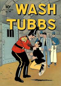 Cover Thumbnail for Four Color (Dell, 1942 series) #28 - Wash Tubbs