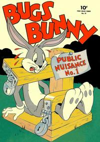 Cover Thumbnail for Four Color (Dell, 1942 series) #33 - Bugs Bunny