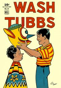 Cover for Four Color (Dell, 1942 series) #53 - Wash Tubbs