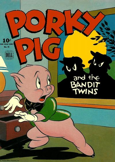 Cover for Four Color (Dell, 1942 series) #78 - Porky Pig