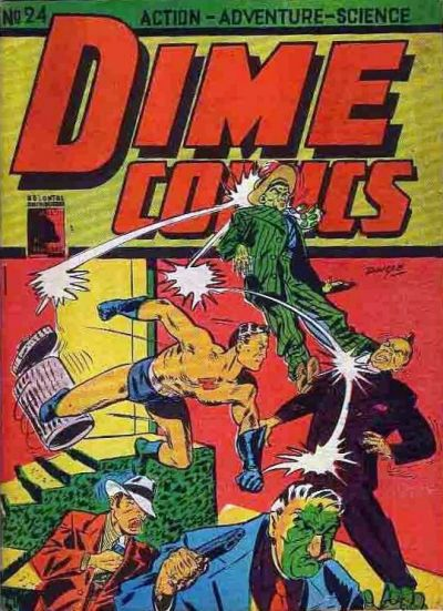 Cover for Dime Comics (1942 series) #24