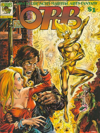 Cover for Orb Magazine (Orb Publications, 1974 series) #6
