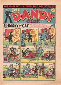 Cover Thumbnail for The Dandy Comic (D.C. Thomson, 1937 series) #341