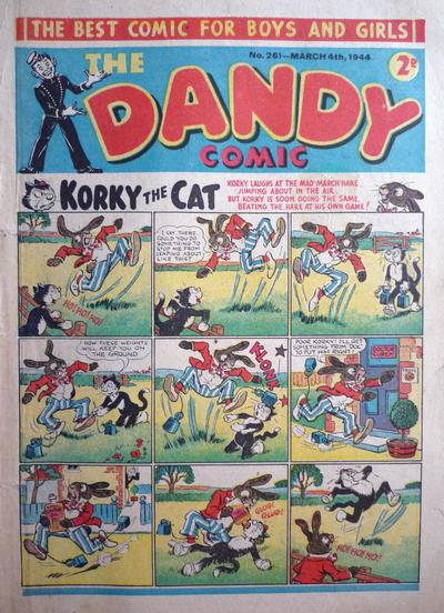 Cover for The Dandy Comic (D.C. Thomson, 1937 series) #261