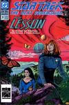 Cover for Star Trek: The Next Generation (DC, 1989 series) #19 [Direct]
