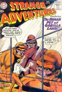 Cover Thumbnail for Strange Adventures (DC, 1950 series) #108