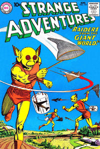 Cover Thumbnail for Strange Adventures (DC, 1950 series) #119