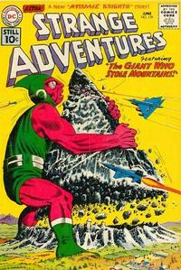 Cover for Strange Adventures (DC, 1950 series) #129
