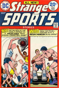 Cover Thumbnail for Strange Sports Stories (DC, 1973 series) #4