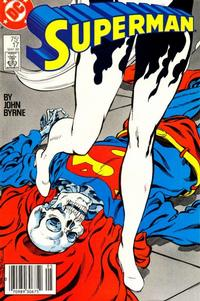 Cover Thumbnail for Superman (DC, 1987 series) #17 [Newsstand Edition]