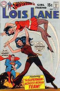 Cover Thumbnail for Superman's Girl Friend, Lois Lane (DC, 1958 series) #93