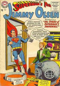 Cover Thumbnail for Superman's Pal, Jimmy Olsen (DC, 1954 series) #5