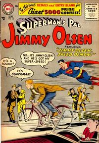 Cover Thumbnail for Superman's Pal, Jimmy Olsen (DC, 1954 series) #15