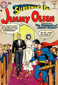 Cover Thumbnail for Superman's Pal, Jimmy Olsen (DC, 1954 series) #21