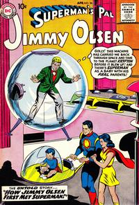 Cover Thumbnail for Superman's Pal, Jimmy Olsen (DC, 1954 series) #36