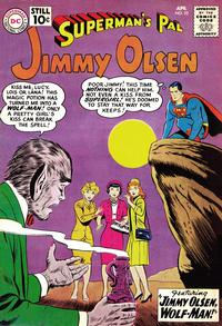 Cover Thumbnail for Superman's Pal, Jimmy Olsen (DC, 1954 series) #52