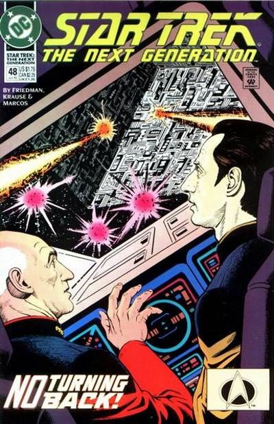 Cover for Star Trek: The Next Generation (DC, 1989 series) #48