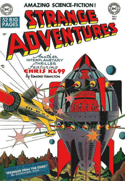 Cover for Strange Adventures (DC, 1950 series) #3