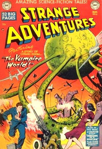 Cover for Strange Adventures (DC, 1950 series) #6