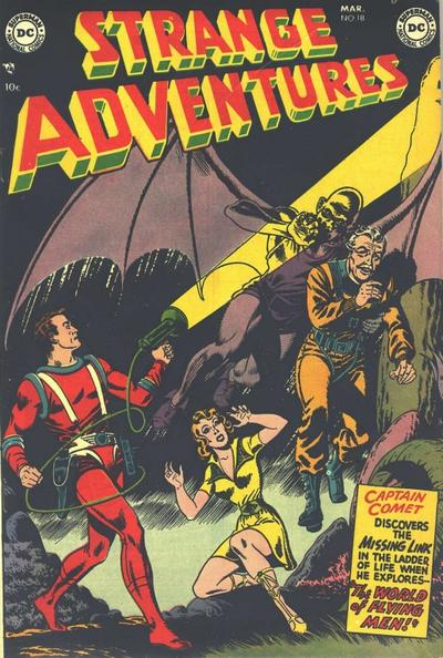 Cover for Strange Adventures (1950 series) #18