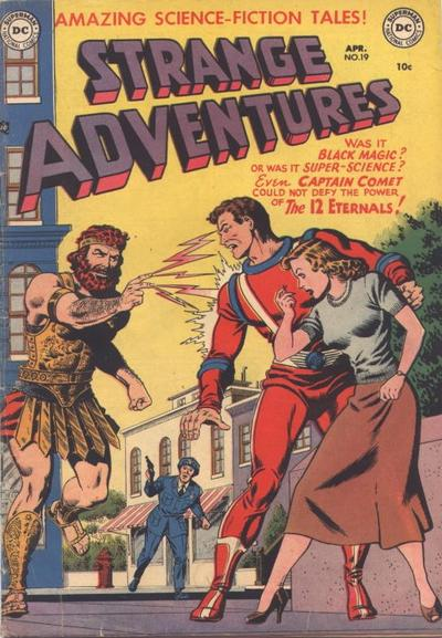 Cover for Strange Adventures (DC, 1950 series) #19