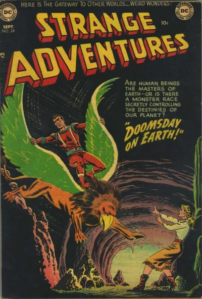 Cover for Strange Adventures (1950 series) #24