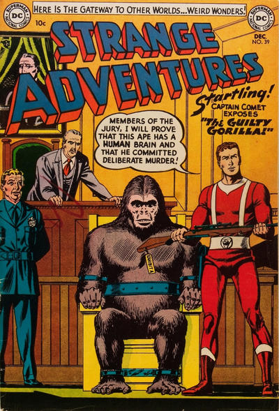 Cover for Strange Adventures (1950 series) #39