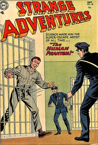 Cover for Strange Adventures (DC, 1950 series) #48