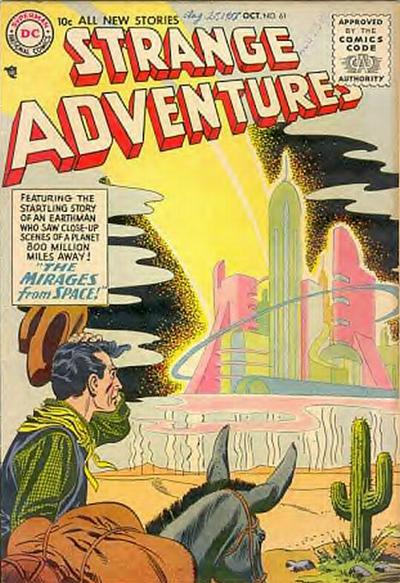 Cover for Strange Adventures (1950 series) #61
