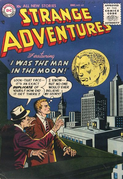 Cover for Strange Adventures (DC, 1950 series) #63