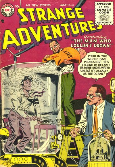 Cover for Strange Adventures (DC, 1950 series) #68
