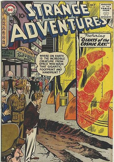 Cover for Strange Adventures (DC, 1950 series) #82