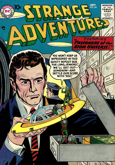 Cover for Strange Adventures (1950 series) #84